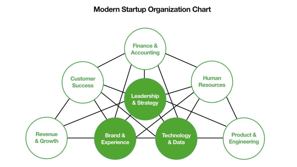 startup organization chart